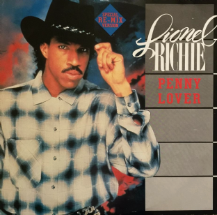"Lionel Richie - Penny Lover (12"") (VG+/VG)"